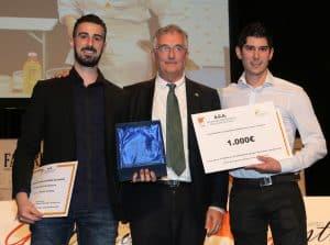 Javier y Luis Antonio Carcas, ganadores del XVI Certamen de Cocina y Repostería de Aragón