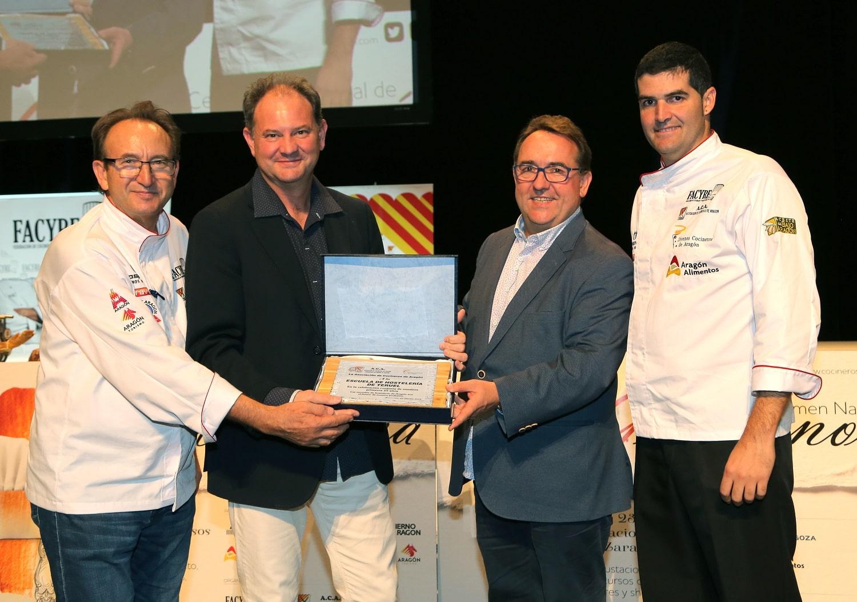 El 25 aniversario de A.C.A. rinde homenaje a las escuelas de hostelería de Aragón
