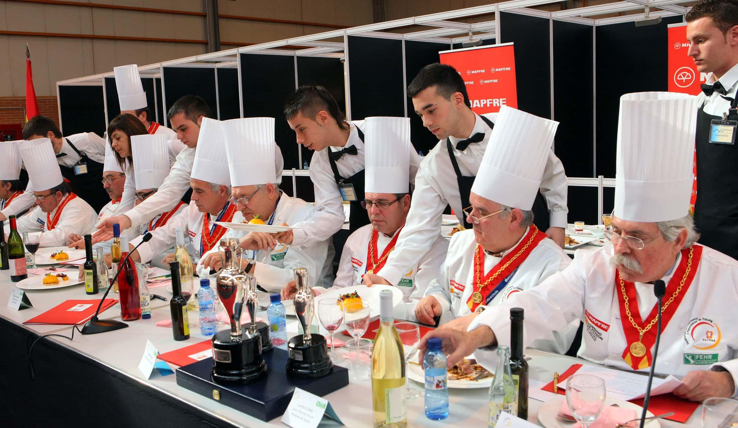 Zaragoza fue una fiesta gastronómica en el 2009, sede del IX Cermanen Nacional de Gastronomía