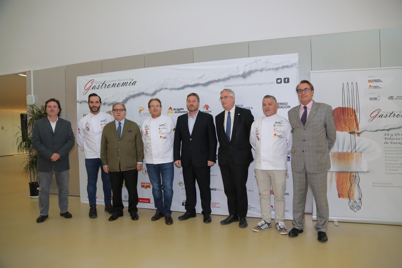 Visita inaugural del V Certamen Nacional de Gastronomía