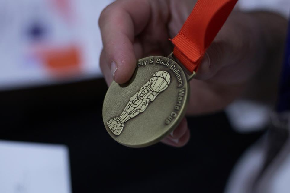 Medalla de bronce de la Selección Española de Cocina Profesional Asoc.