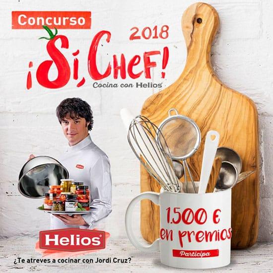 Cocinar con Jordi Cruz y ganar 1500€ en premios