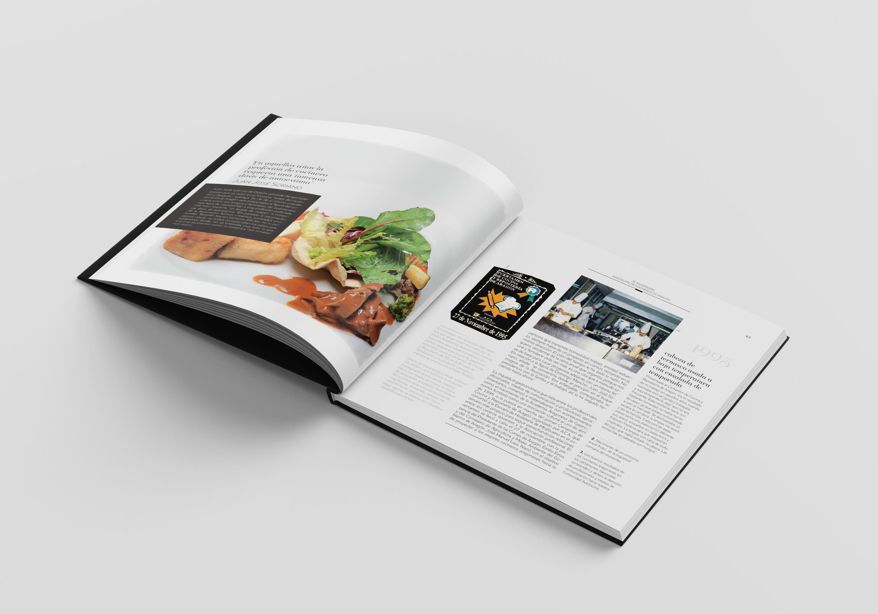 Cocina retrospectiva en la Escuela Topi para presentar el libro 25 años ACA