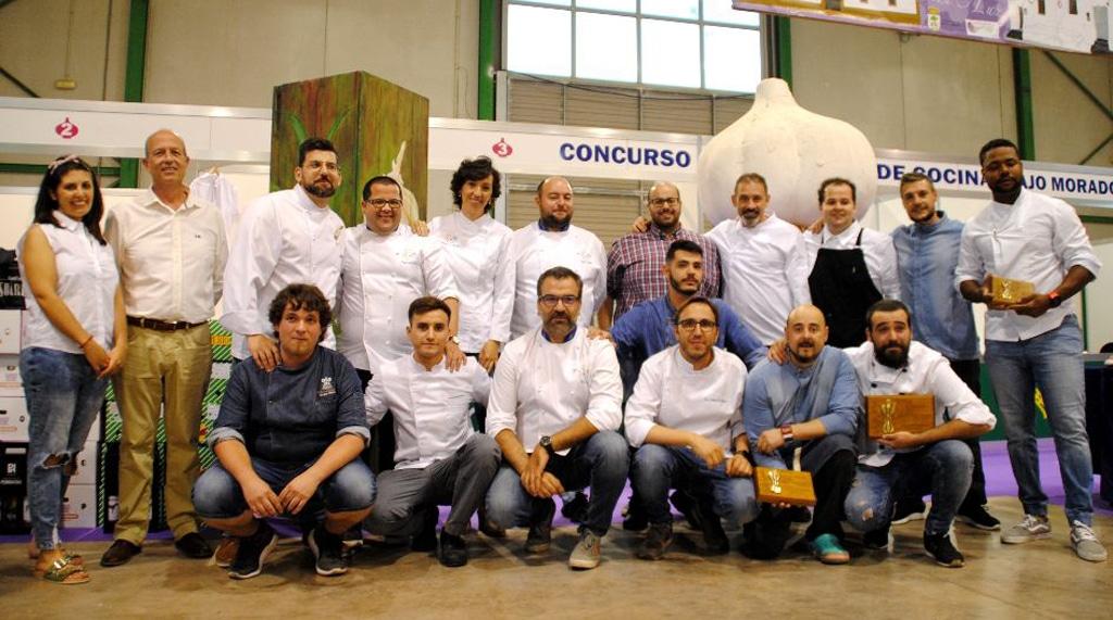 El tercer premio para Reynol Osorio en el XI Concurso Nacional de Cocina Ajo Morado de Las Pedroñeras