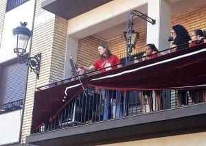 Nerea Bescós, pregonera de las fiestas de Pedrola