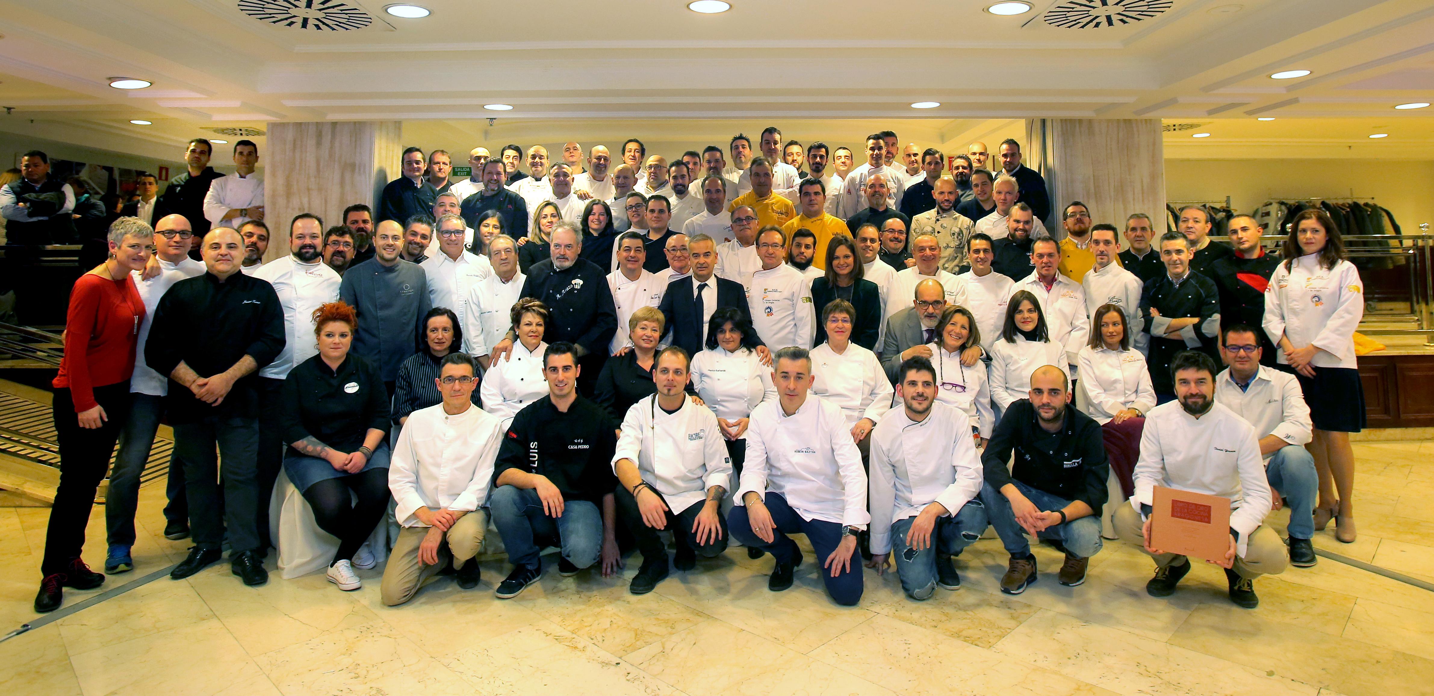 La Cumbre de Cocineros de Aragón que se celebrará el próximo lunes 9 de septiembre en Teruel completa su programa