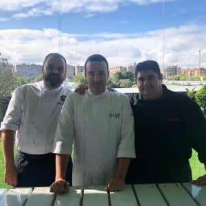 Estudiantes y profesores de cocina y sala descubren las peculiaridades de los alimentos de calidad certificada aragoneses