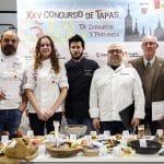 Jurado de excepción en la final del Concurso de Tapas Zaragoza