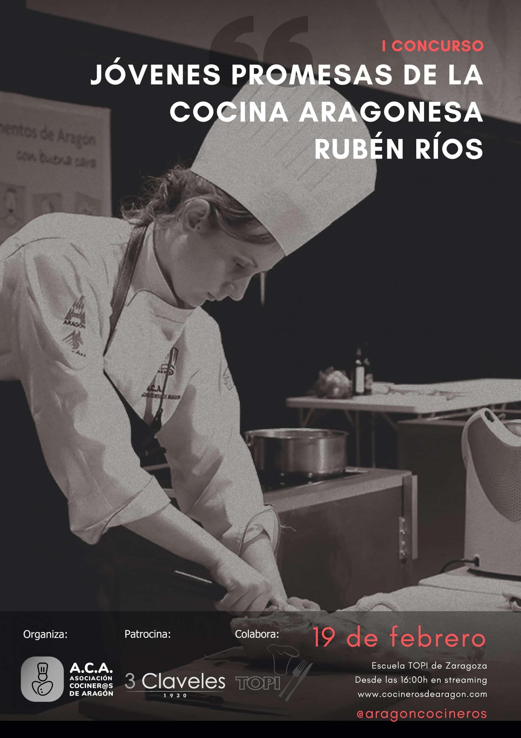 Jóvenes Promesas de la Cocina Aragonesa Rubén Ríos