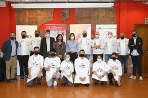 Ariel Munguía gana el I Certamen 'Jóvenes Promesas de la Cocina Aragonesa, Rubén Ríos'