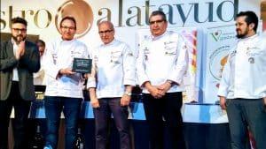 GastroCalatayud rinde un emotivo homenaje a la Asociación de Cocineros de Aragón por su 25 aniversario