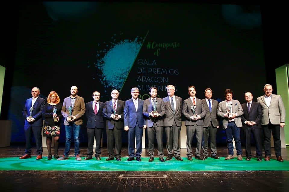 El cocinero Javier Matinero recibe el Premio Aragón Alimentos