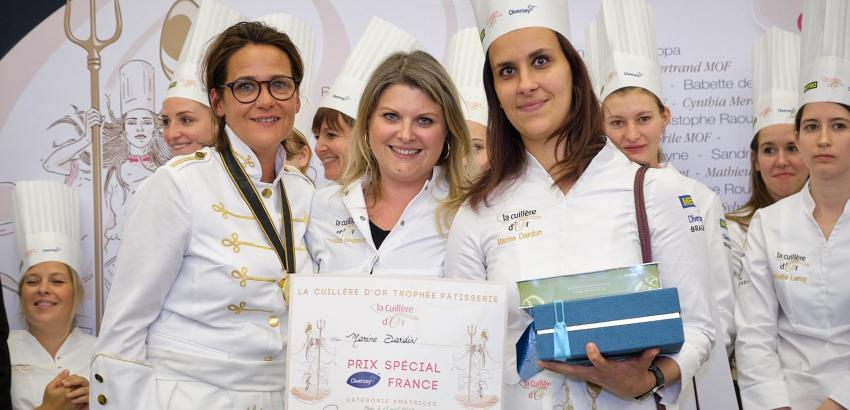 Llega a España el concurso francés para chefs femeninas La Cuillère d´Or