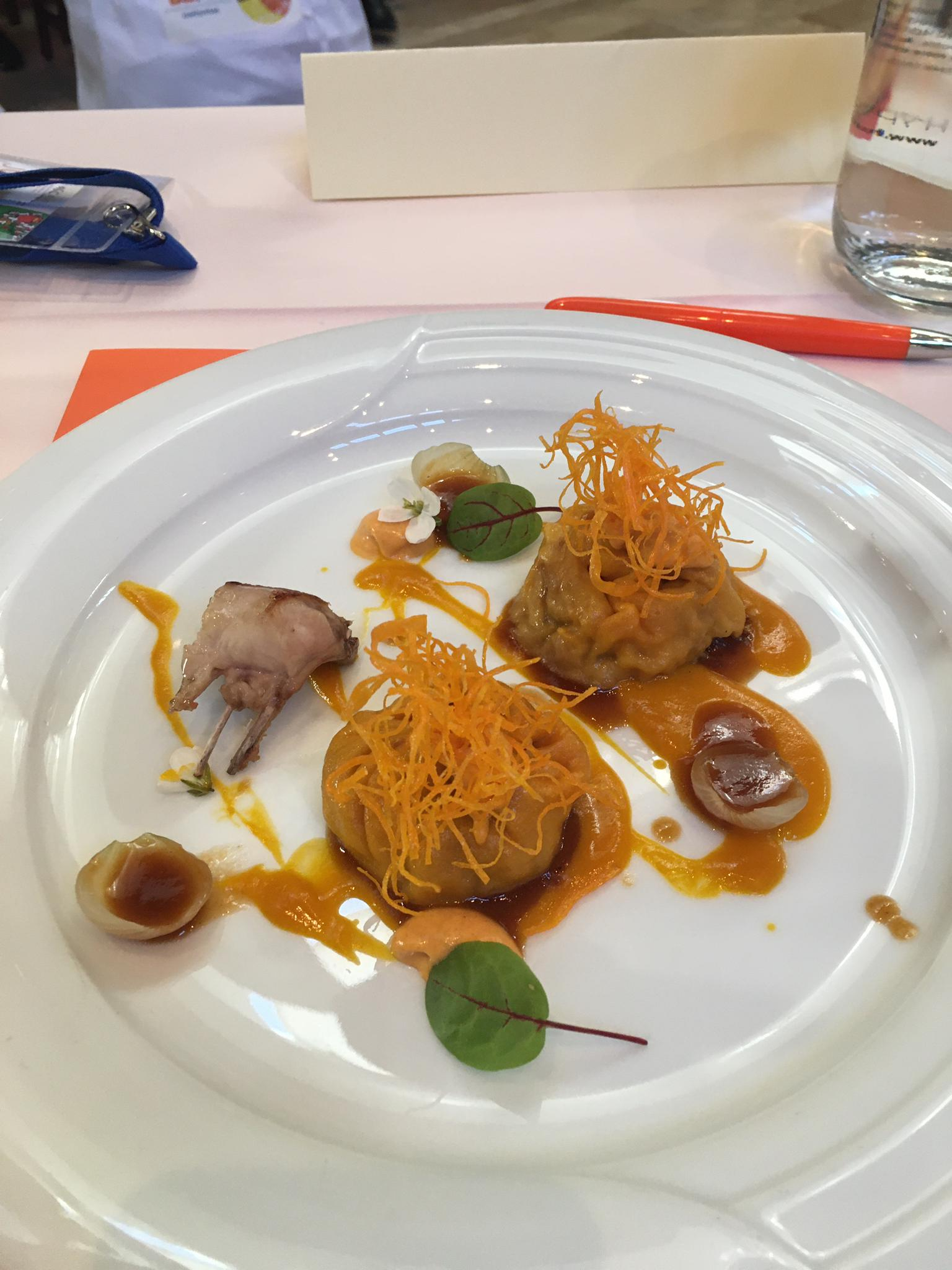 Los hermanos Luis Antonio y Javier Carcas, del restaurante zaragozano Casa Pedro, ganadores del VI Certamen Nacional de Gastronomía