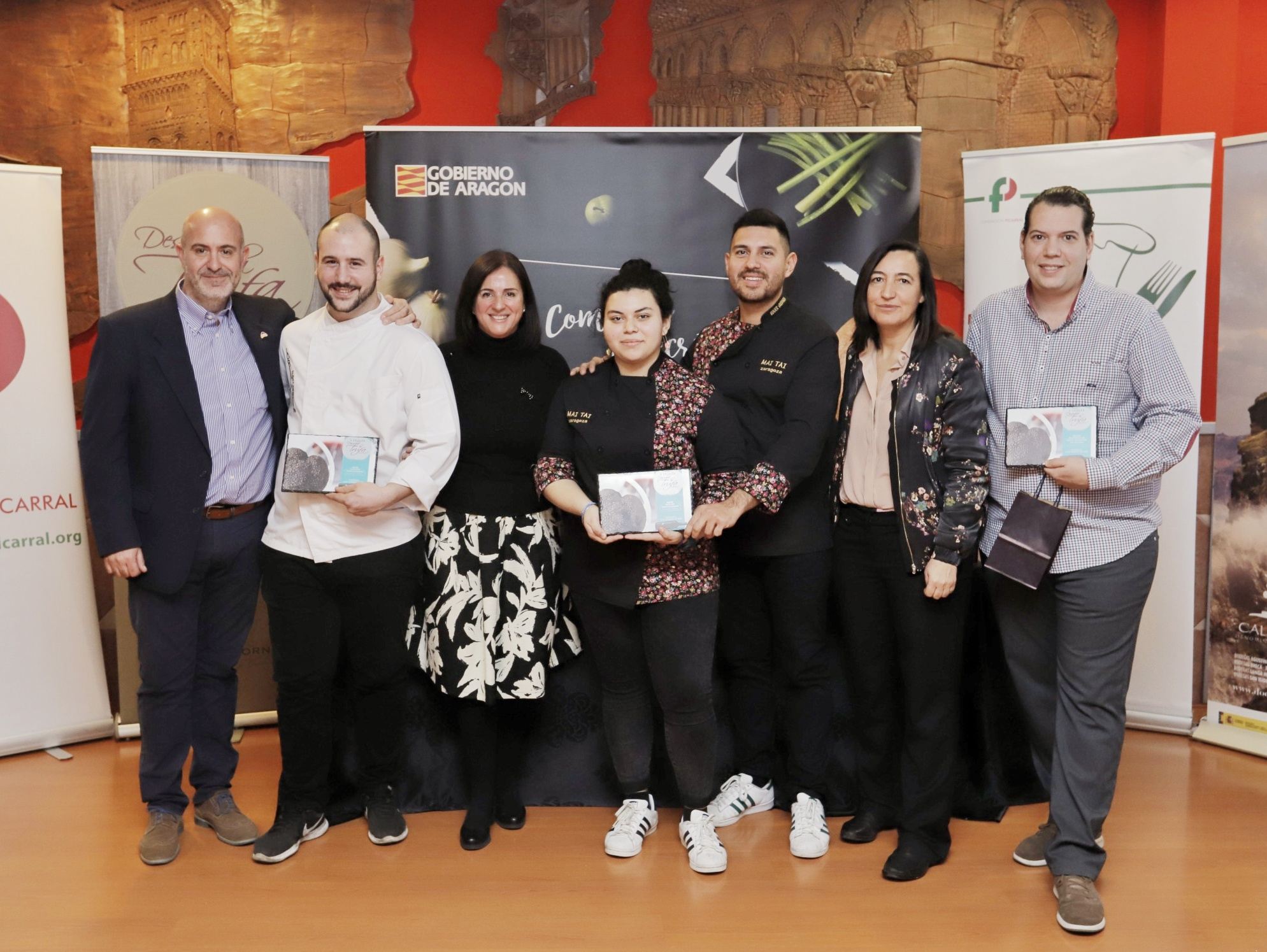MAI TAI y Casa Escartín ganadores en Descubre la Trufa